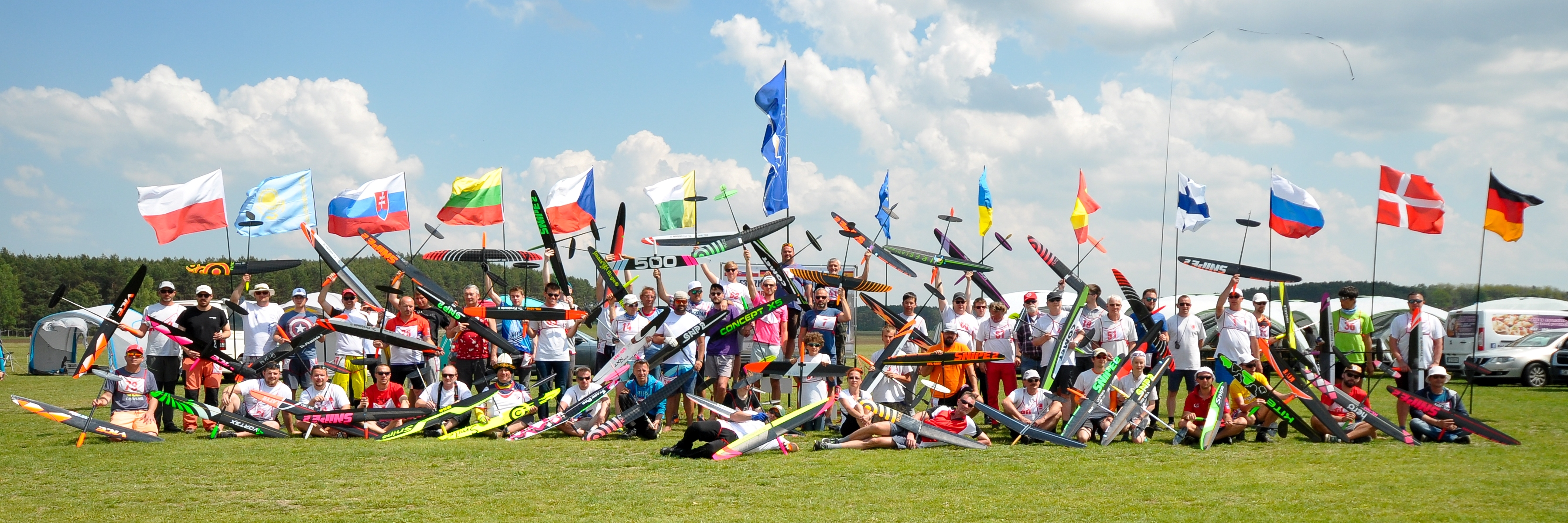 VII World Cup, IX Eurotour Contest F3K